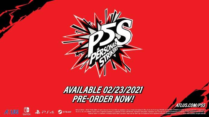 Persona 5 Strikers Aka Scramble Release Date Samantha Lienhard