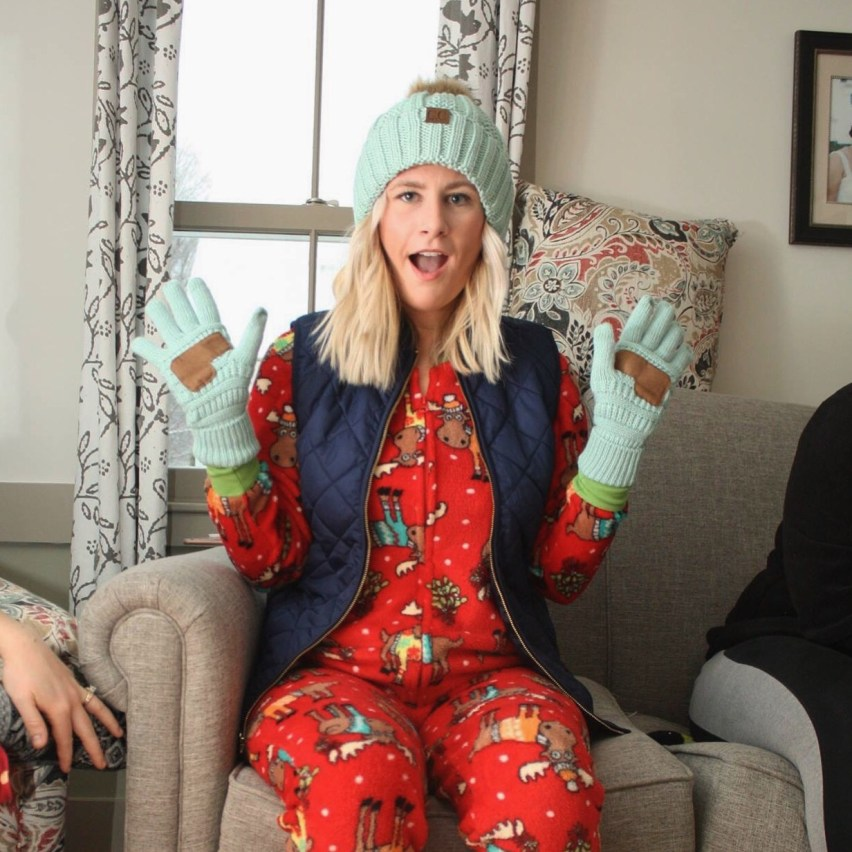 C.C. beanie in mint: five winter must-haves