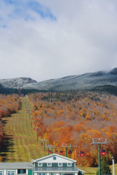 Stowe Mountain in Stowe, Vermont