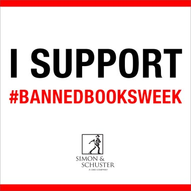 I Support Banned Books with Simon & Schuster