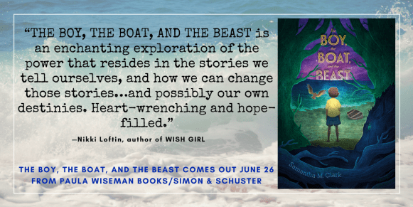 THE BOY, THE BOAT, AND THE BEAST recommendation from author Nikki Loftin