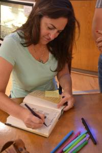 Signing pre-ordered copies of THE BOY, THE BOAT, AND THE BEAST at BookPeople.