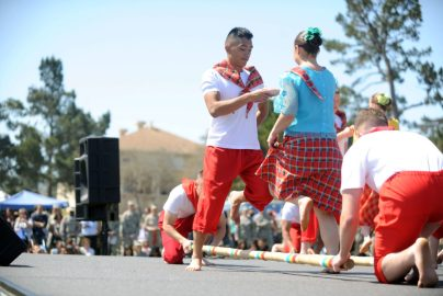Tinikling dancing featured in The House That Lou Built