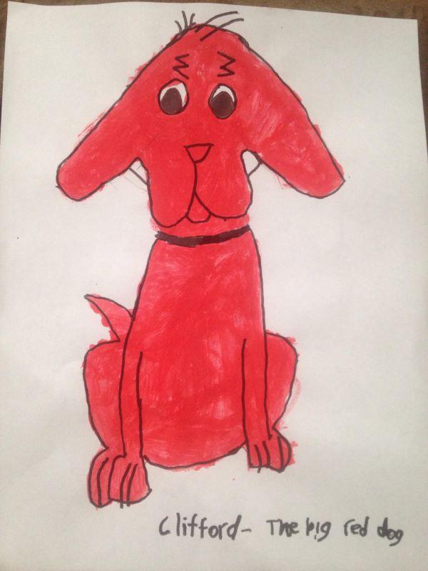 Clifford Big Red Dog - Samantha Bell
