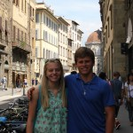 The Adventures of Backpacking Begin and look who I found in Florence, Italy?