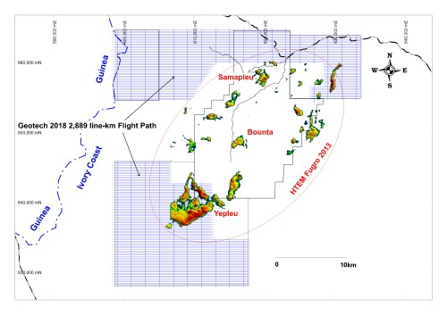small resolution of the company s exploration objective is to delineate massive sulphide reservoirs that could be the source of high grade nickel copper cobalt palladium lenses