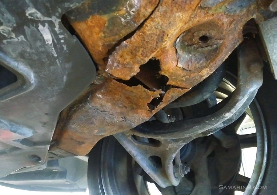 2003 Honda Accord Engine Diagram How To Spot Signs Of Accident Repair Rust Or Paint Job