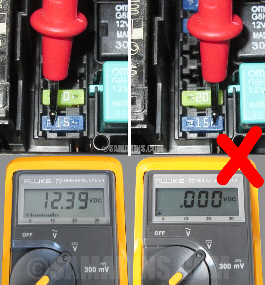 medium resolution of how to find a blown fuse in a car with a multimeter if there is 12 volt