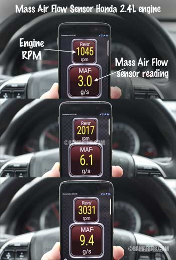 2015 Camry Wiring Diagram Mass Air Flow Sensor Maf How It Works Symptoms