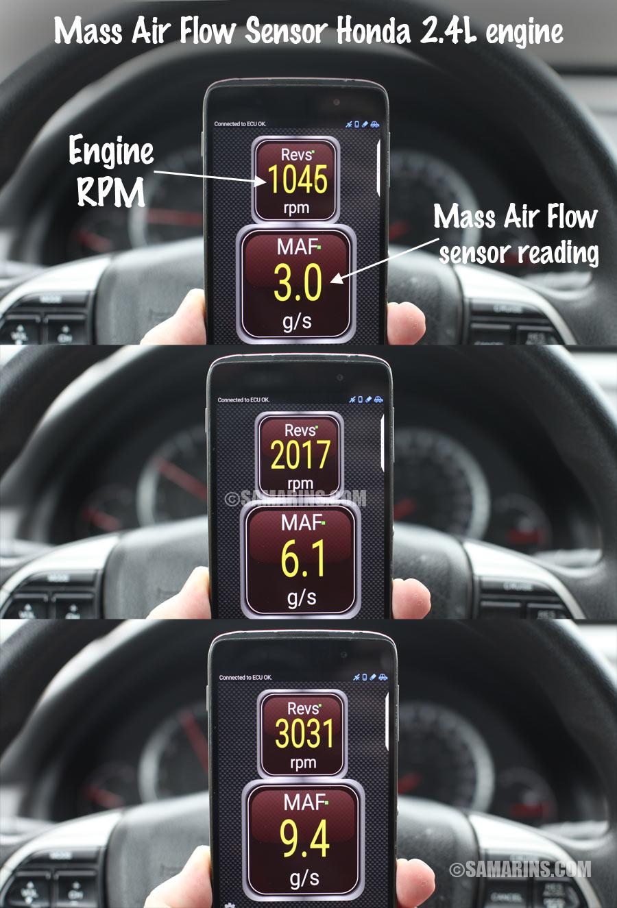 2011 Camry Wiring Diagram Mass Air Flow Sensor Maf How It Works Symptoms
