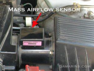 P0100  Mass Air Flow Circuit Malfunction