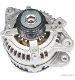 an original oem part bough from a dealer is more expensive an aftermarket or a rebuilt unit is cheaper another alternative is to have your alternator  [ 1000 x 893 Pixel ]