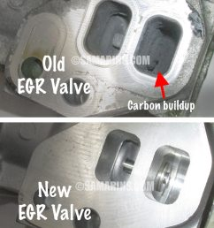 old vs new egr valve [ 900 x 1136 Pixel ]