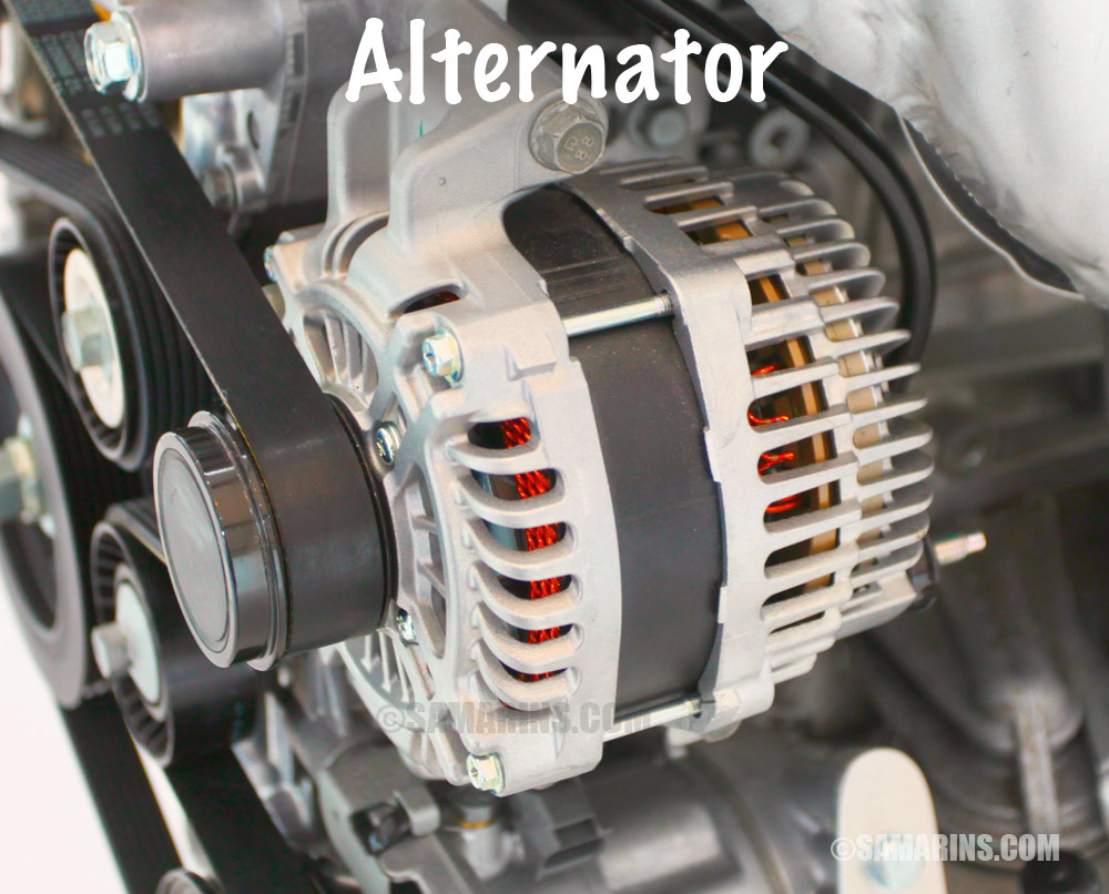 Cars Alternator 2000 Ford Econoline Alternator Wiring Diagram 2000