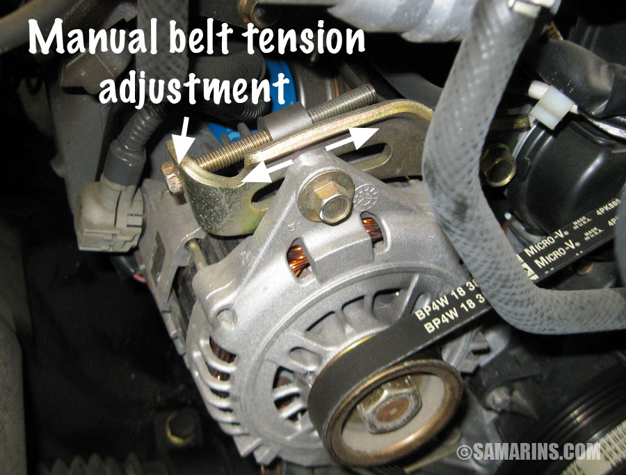 97 honda civic engine diagram water pump pressure control switch wiring serpentine belt, tensioner: problems, signs of wear, when to replace, noises