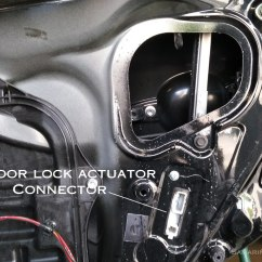 2006 Ford Escape Door Ajar Wiring Diagram 1996 Honda Civic Lx Power Window Lock Actuator Problems Testing Replacement Assembly