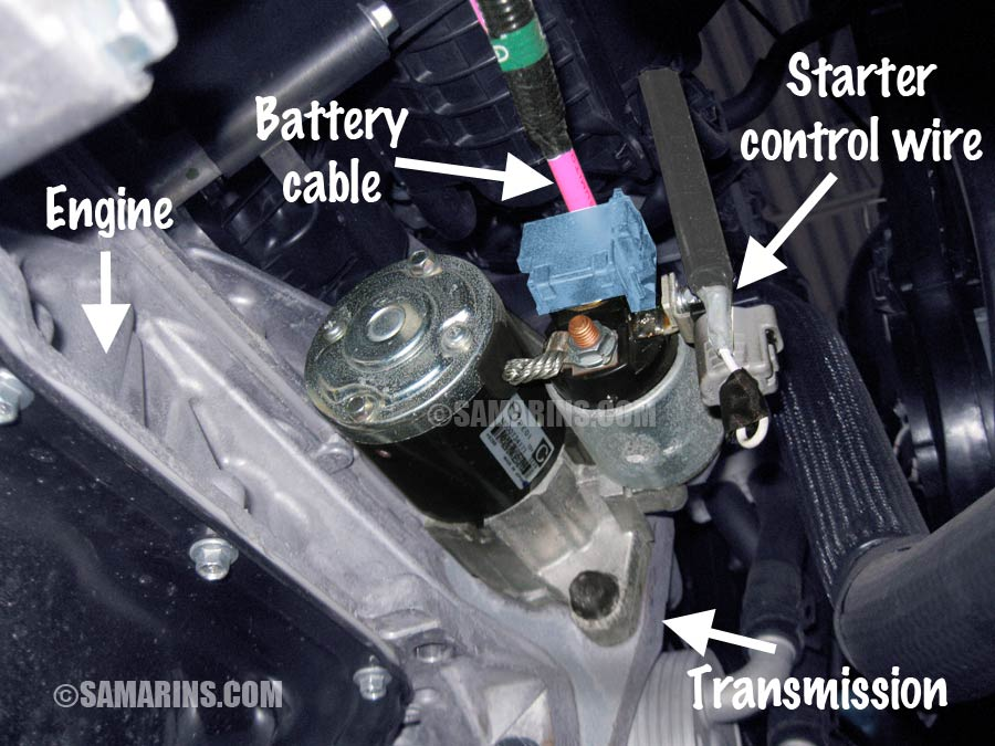 Ford 12 Volt Solenoid Wiring Diagram Starter Motor Starting System How It Works Problems