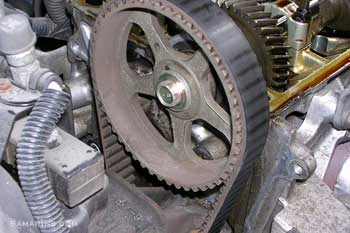 Timing belt in good condition