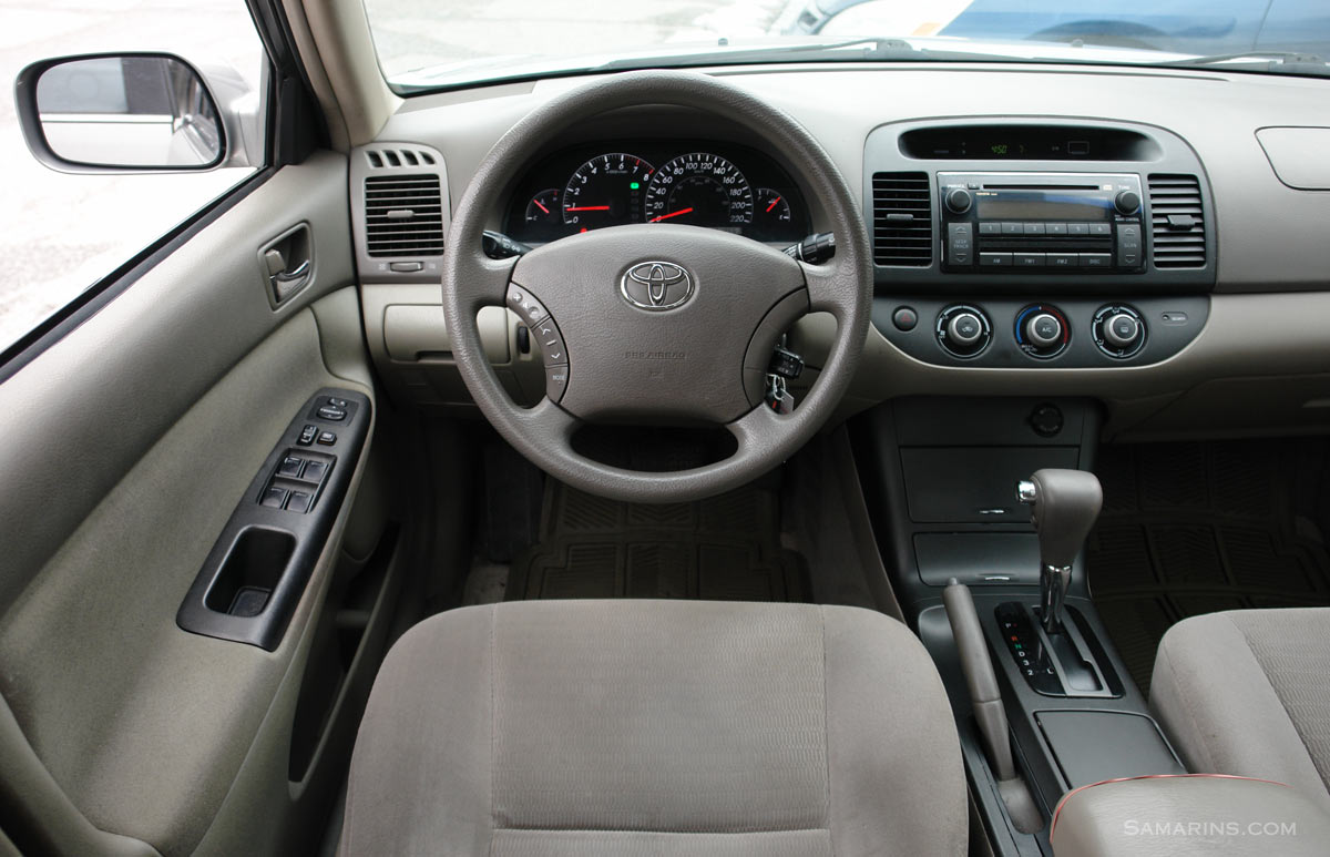 hight resolution of 2006 toyota camry interior