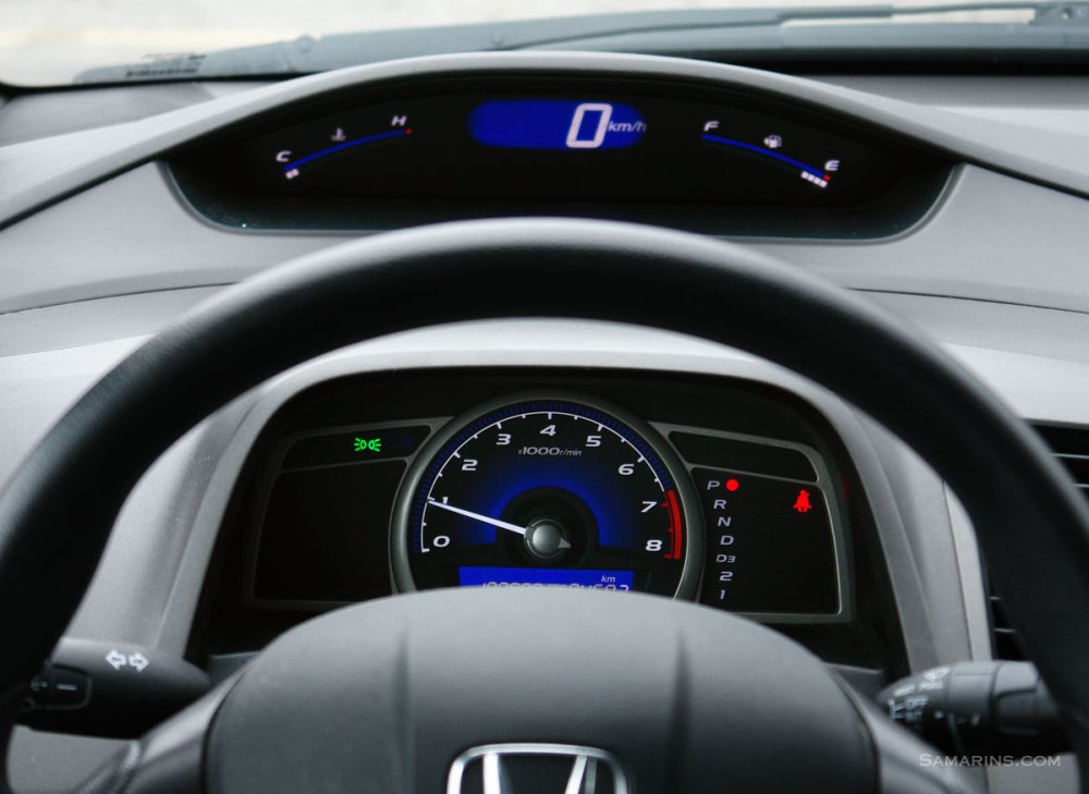 medium resolution of honda civic instruments