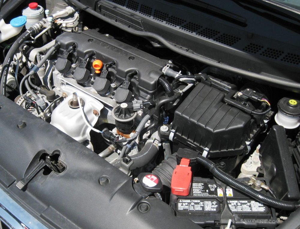 medium resolution of honda civic engine