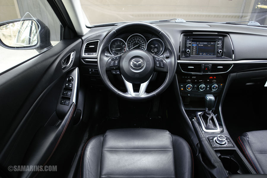 hight resolution of mazda 6 interior