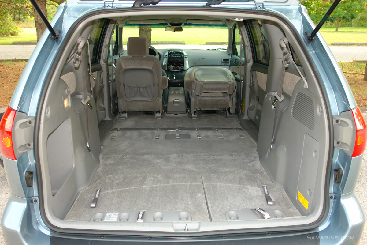 toyota sienna captains chairs removal reclining chaise lounge chair indoor 2004 2010 problems and fixes fuel economy