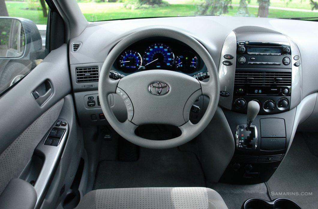 Interior Toyota Sienna 2009 | Psoriasisguru.com