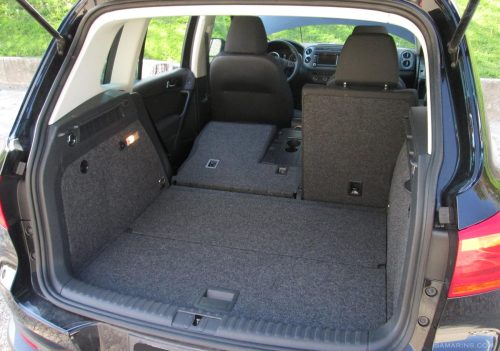 small resolution of 2015 volkswagen tiguan cargo area