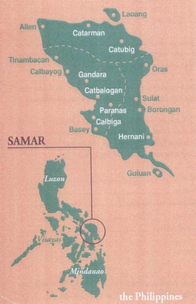 Samar Island Philippines an island in the Visayas