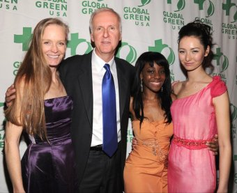 Samata Angel at Global Green Pre-Oscar event