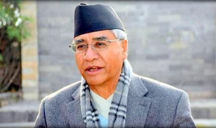 नेम्वाङले धारा ७६ (५) काे गलत व्याख्या गर्नुभयाे, मेराे जवाफ नसुनी हिँड्नुभयाे : प्रधानमन्त्री देउवा