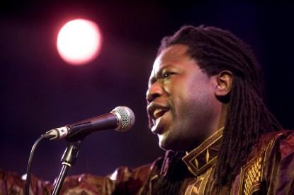 Samba Sene (live 2) - photo by marc marnie