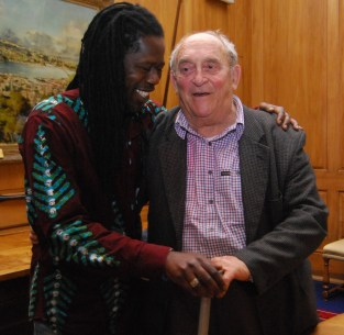 Samba with Dennis Goldberg, Oct 2013