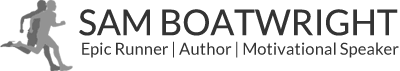 Sam Boatwright - Epic Runner Author, Motivational Speaker