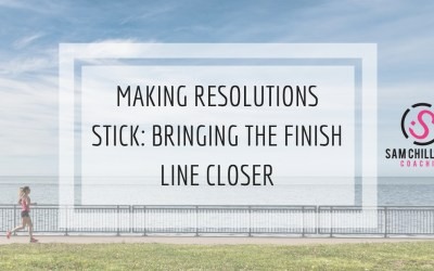 Making Resolutions Stick: Bringing The Finish Line Closer