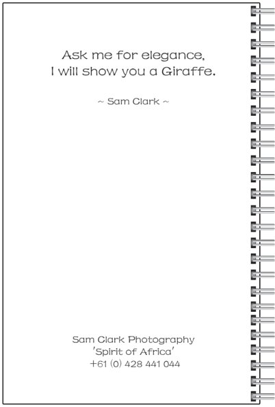 NOTE-GIRAFFE back cover