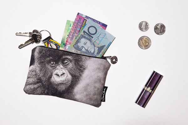 Gorilla Kidogo (little) Purse