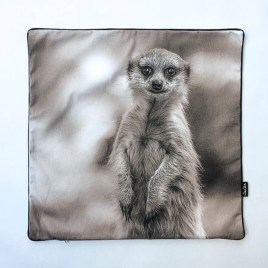 Meerkat Cushion Cover