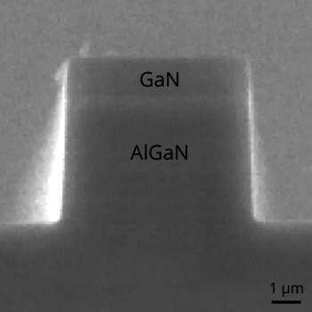 AlGaN GaN Etch for Blue Laser Diode