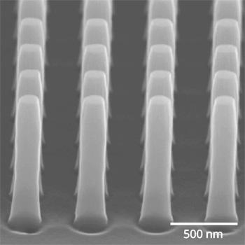silicon nanoimprint mold fabrication