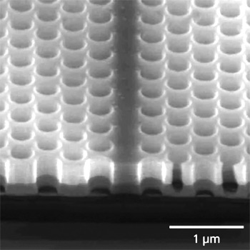 silicon photonic light waveguide on SOI