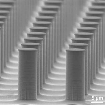 silicon pillar fabrication using the Bosch Process