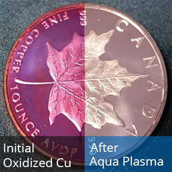 copper plasma cleaning