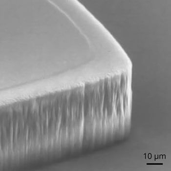 Anisotropic Polyimide Plasma Etching