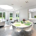Dining room lighting, by Sam Coles Lighting