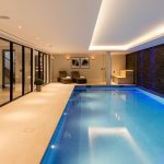 Swimming pool lighting by Sam Coles Lighting 01