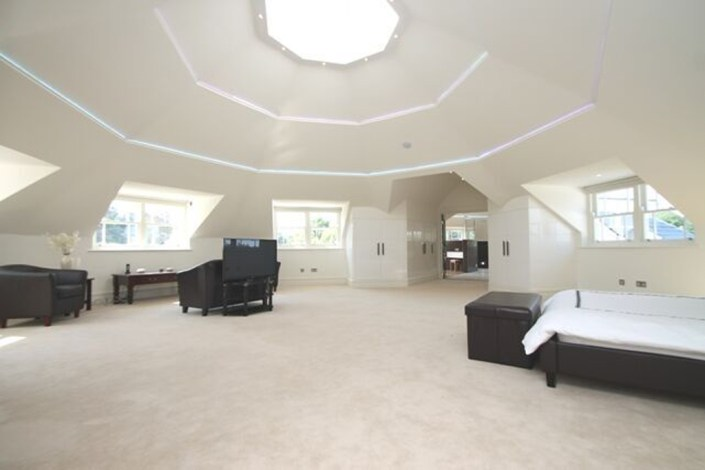Bedroom ceiling lighting by Sam Coles Lighting