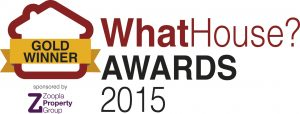 Sam Coles Lighting won on of the WhatHouse? awards in 2015