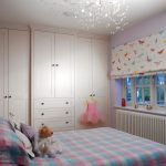 Bed and Wardrobe